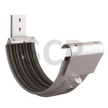 Load image into Gallery viewer, Lindab Radius Gutter Bracket Silver Metallic