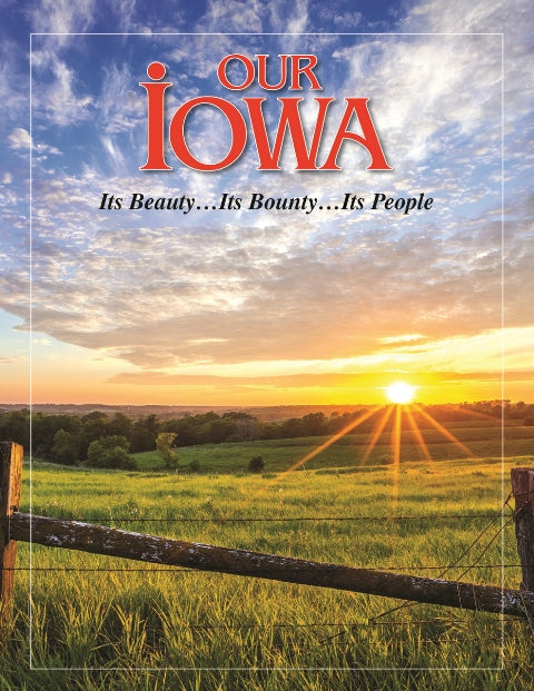 Our Iowa Hardcover Book