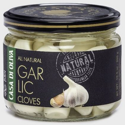 All Natural Garlic Clove Casa Di Oliva