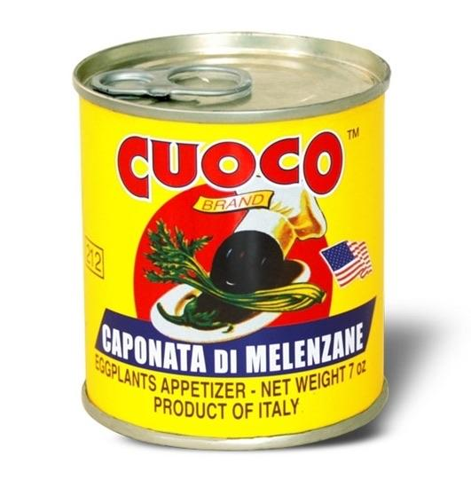 Eggplant Appetizer Cuoco Canned