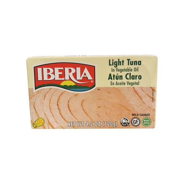 Light Tuna with Vegetable Oil Iberia Canned