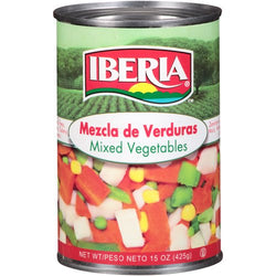 Mixed Vegetables Iberia Canned
