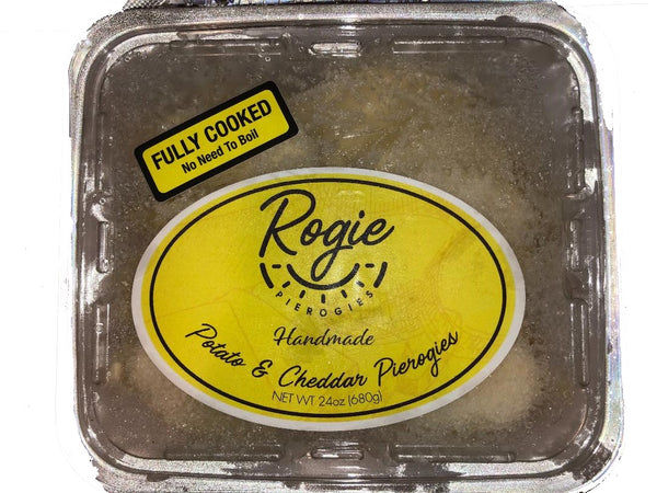 Potato and Cheddar Pierogies (Frozen) Rogie