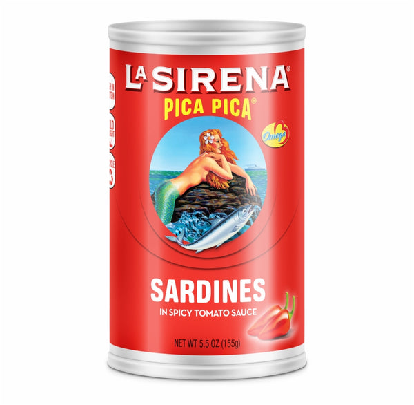 Sardines in Spicy Tomato Sauce La Sirena Canned