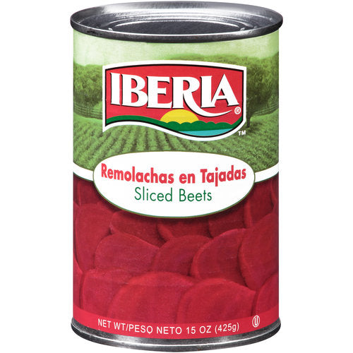 Sliced Beets Iberia Canned