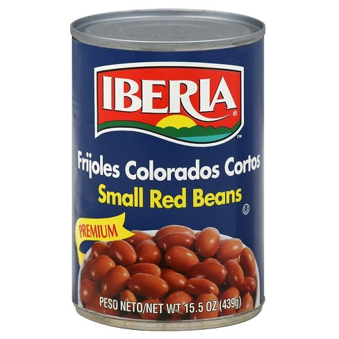 Small Red Beans Iberia Canned