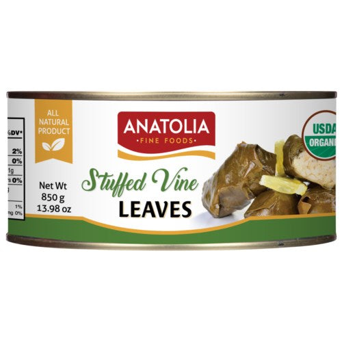 Stuffed Vine Leaves Anatolia Canned