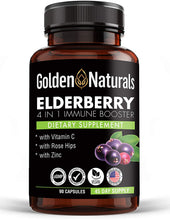 Load image into Gallery viewer, ELDERBERRY 4 IN 1 IMMUNE BOOSTER