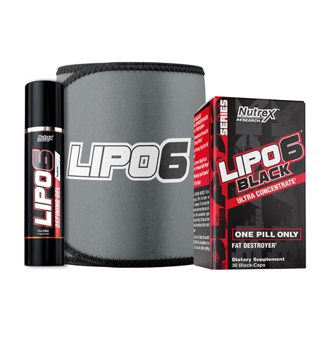 BUNDLE: LIPO 6 DEFINING GEL + LIPO 6 WAIS TRIMMER + LIPO 6 BLACK | NOVA VITA SHOPPE - NOVA VITA US