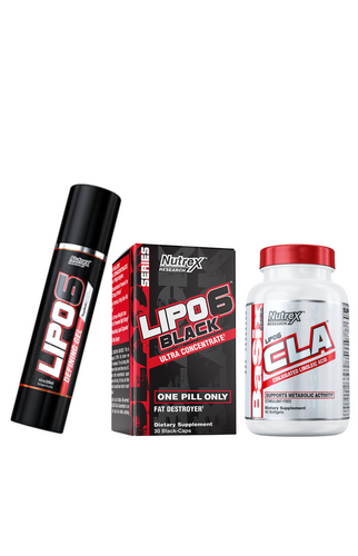 BUNDLE: LIPO 6 DEFINING GEL + LIPO 6 BLACk + LIPO 6 CLA | NOVA VITA SHOPPE - NOVA VITA US
