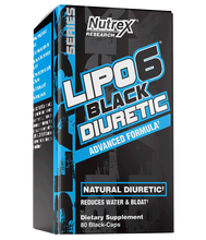 Load image into Gallery viewer, LIPO 6 BLACK DIURETIC - Nova Vita US