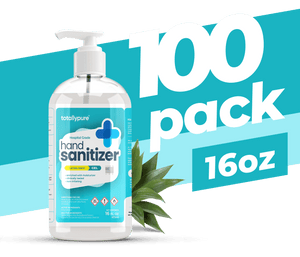100 x 16 oz. Gel Hand Sanitizer - TotallyPure Sanitizers