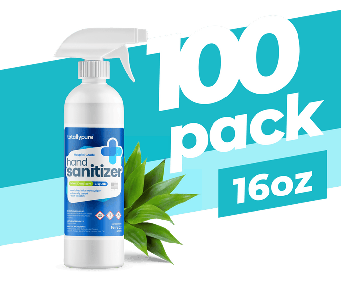 100 x 16 oz. Liquid Sanitizer Spray - TotallyPure Sanitizers