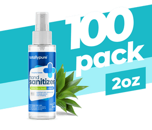 100 x 2 oz. Liquid Sanitizer Spray - TotallyPure Sanitizers