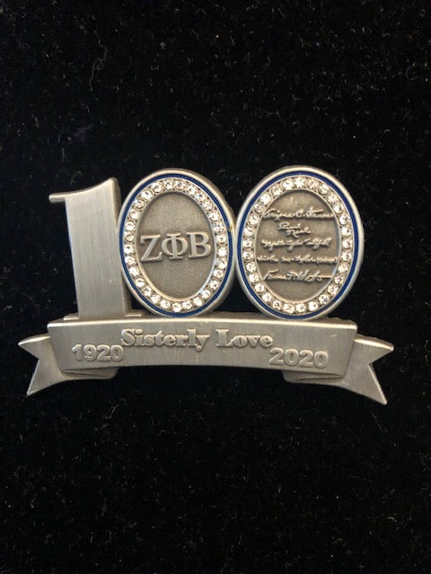 100 Years Lapel Pin
