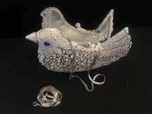 Load image into Gallery viewer, Rhinestone Dove Clutch Handbag