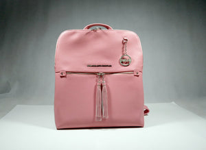 Pink Tassel Backpack Handbag