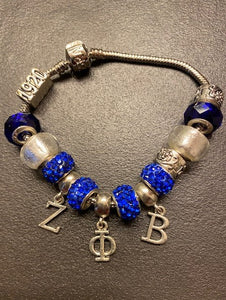 "Pandora ""Like"" Greek Letter Bracelet"