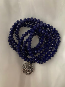 Centennial Royal Blue Necklace