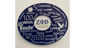 1st Virtual Boule' Lapel Pin