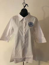 Load image into Gallery viewer, White Swing Shirt