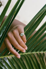 Load image into Gallery viewer, Palm Tree Signet Ring