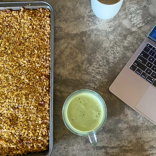 Glowing with Gratitude Granola