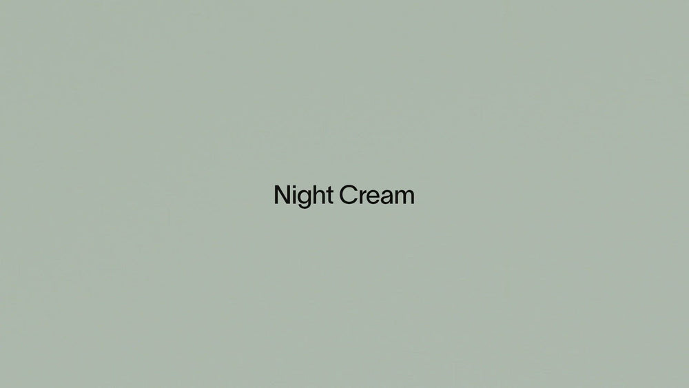 Load and play video in Gallery viewer, Night Cream