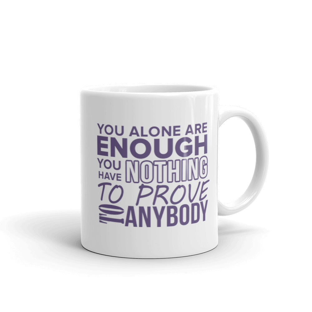 You Alone Are Enough - Purple Mug