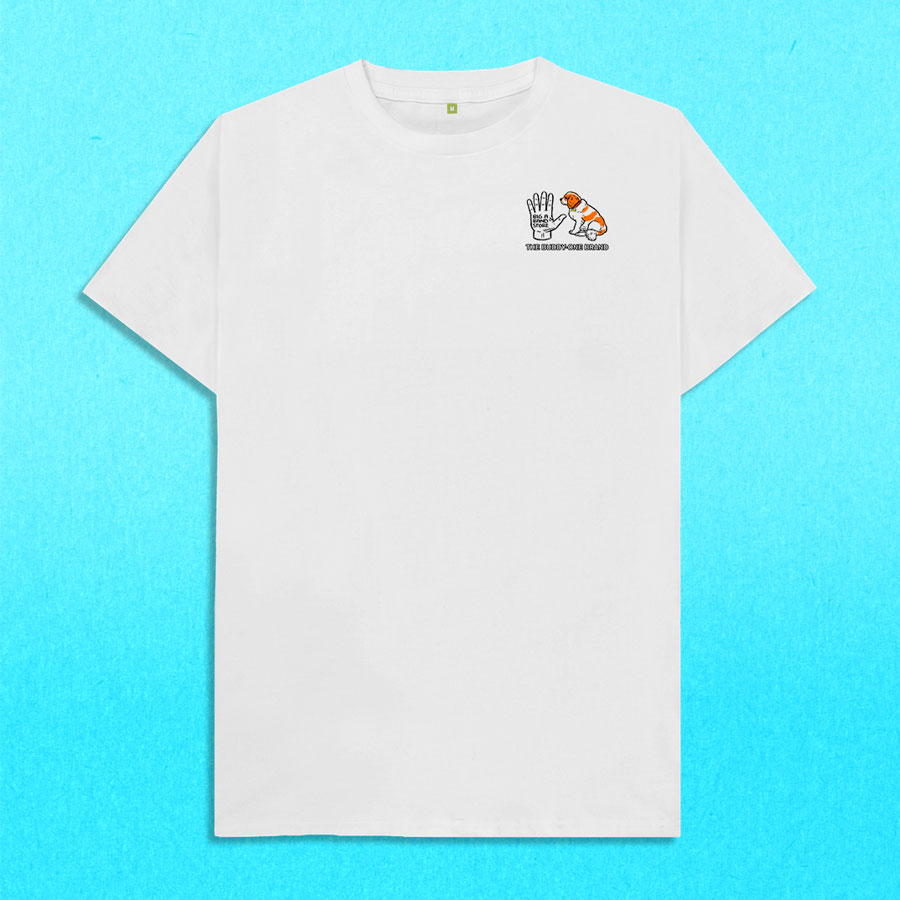 The Buddy One™ Basic White tee