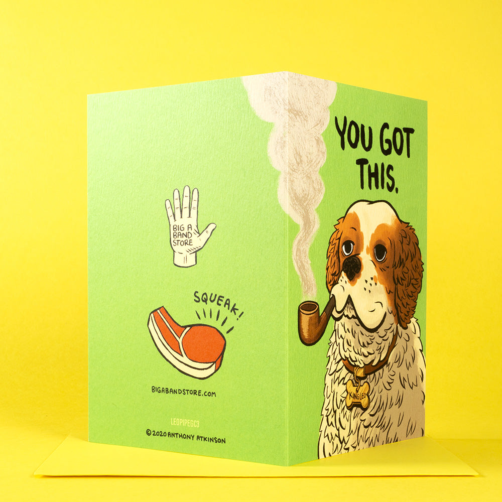 You Got This - card & sticker combo