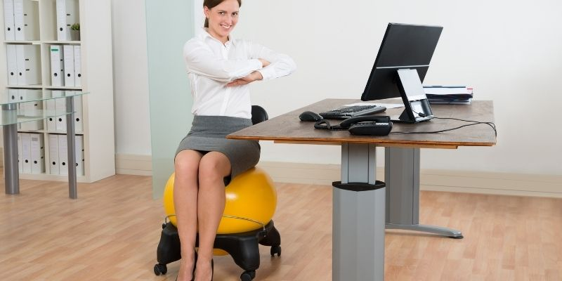 Are exercise balls better than chairs
