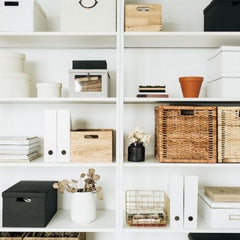 How To Organize A Home Office - cabinet