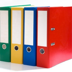 How To Organize A Home Office - colorfull folder