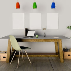 How do I keep my home office desk clean and clutter-free
