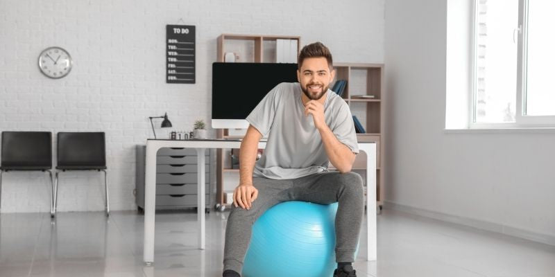 What are the Benefits of using a Balance ball chair