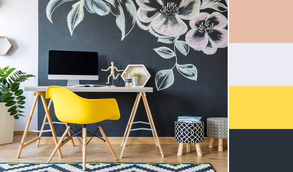what is the best color for a home office black