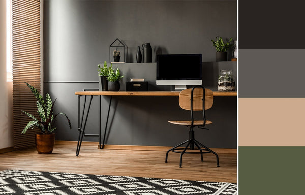 what is the best color for a home office grey