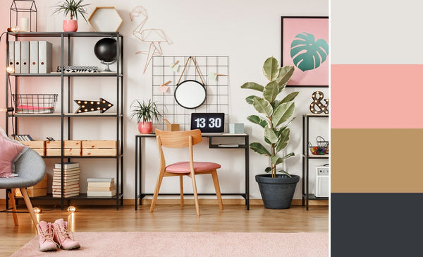 what is the best color for a home office pink