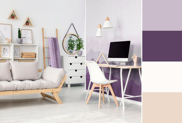 what is the best color for a home office purple