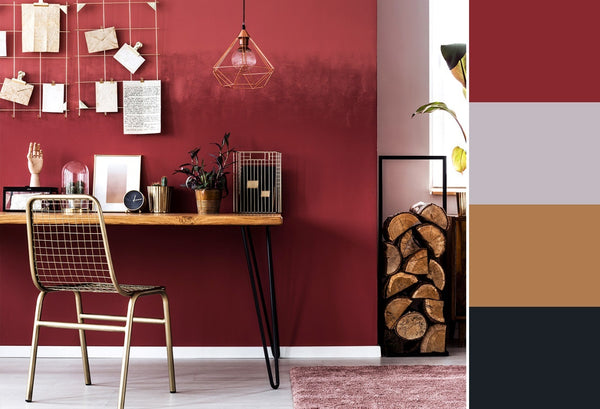 what is the best color for a home office red