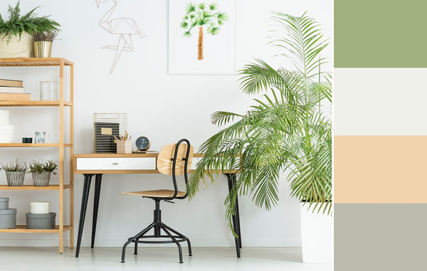what is the best color for a home office white