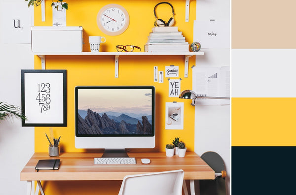 what is the best color for a home office yellow