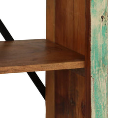Solid Reclaimed Wood Antique Style Bookcase