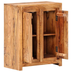 Solid Sheesham Wood Sideboard Cabinet