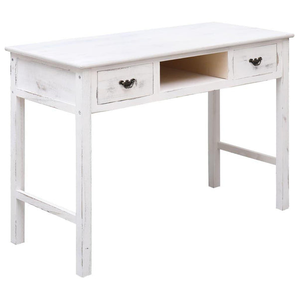 Antique White Wood Console Table.jpg
