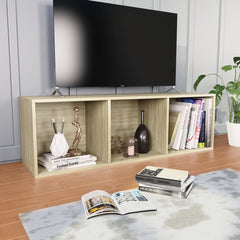 Sonoma Oak Book Cabinet/TV Cabinet  Chipboard