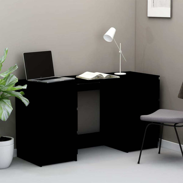 Stylish Design Black Chipboard Writing Desk.jpg