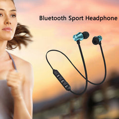 Premium Magnetic Portable Wireless Bluetooth Earbuds
