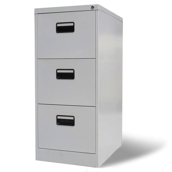Gray Steel File Cabinet with 3 Drawers.jpg